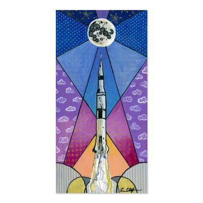 Apollo 11 Launch - Art Print