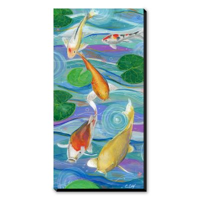 Big Spring Koi - Art Print