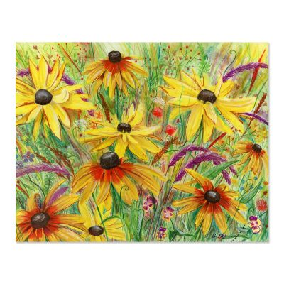 Black-eyed Susans - Art Print