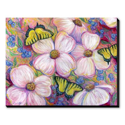 Dogwoods and Swallowtails - Art Print