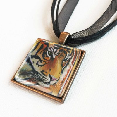 Eye of the Tiger - Pendant
