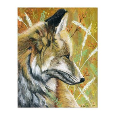 Fall Fox - Art Print
