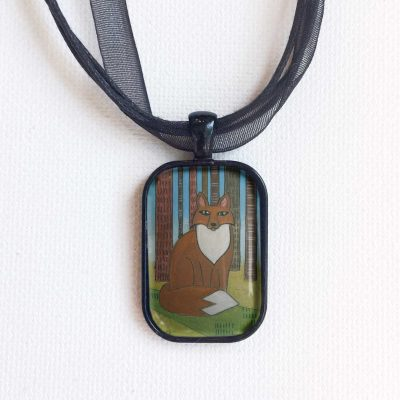 Forest Fox - Pendant
