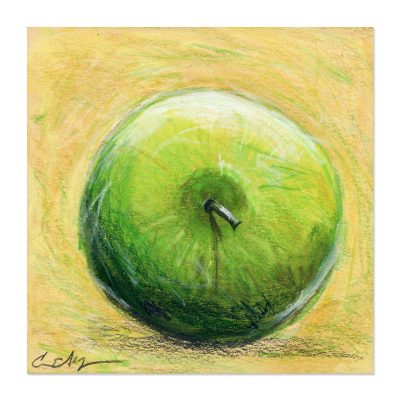 Green Apple - Art Print