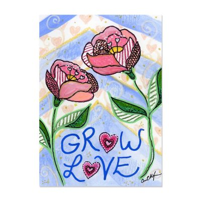 Grow Love - Art Print