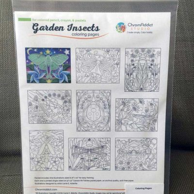 Garden Insects Coloring Book