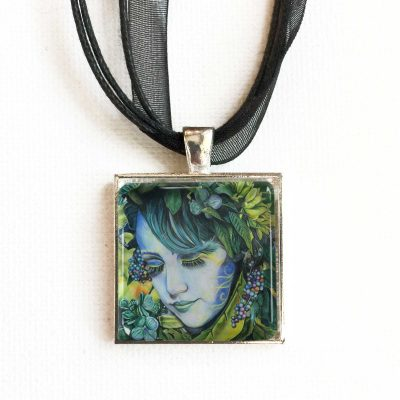 Lady in Blue - Pendant