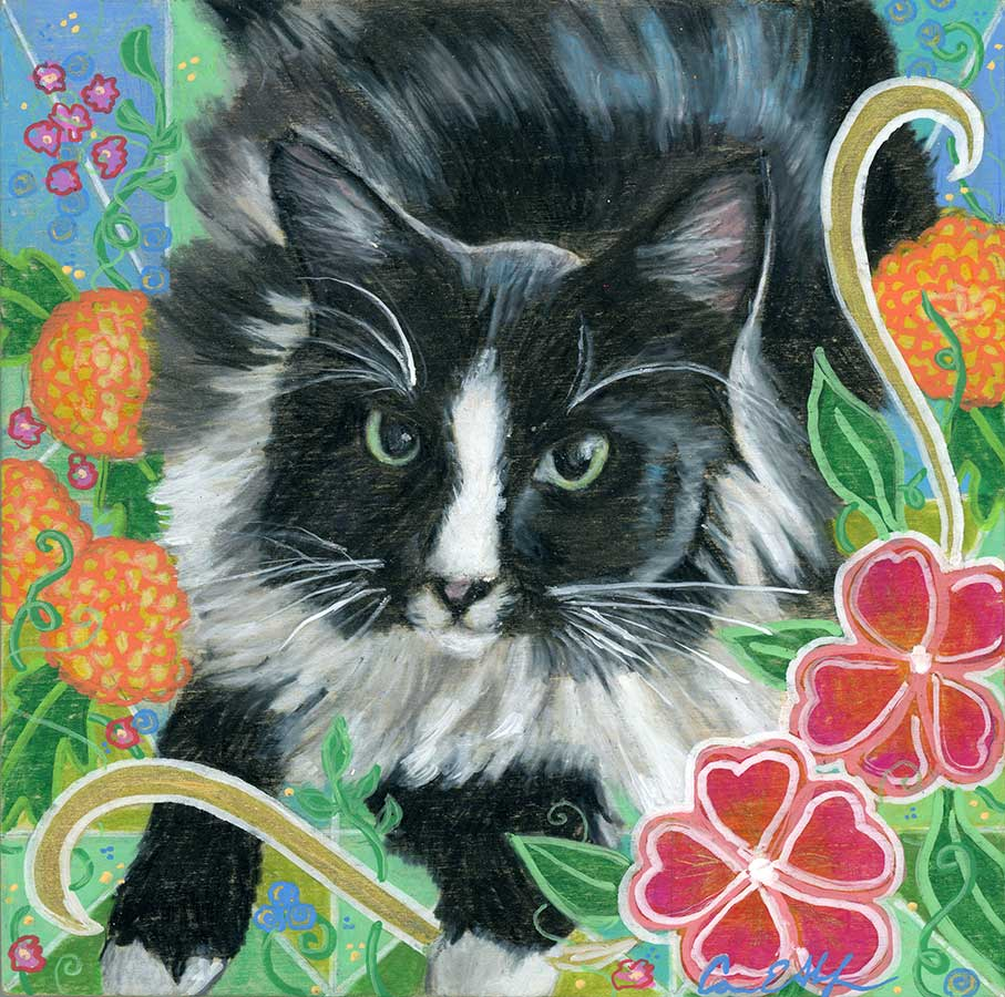Pet portraits are available in several styles. I work from your photos. And I am open to your ideas.