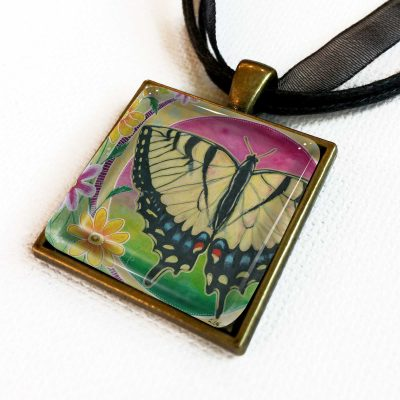 Peaceful Swallowtail - Pendant