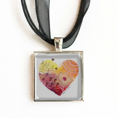 Rooted in Love Heart - Pendant