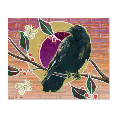 The Crow Knows - Art Print