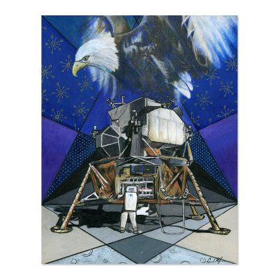 The Eagle has Landed - Art Print