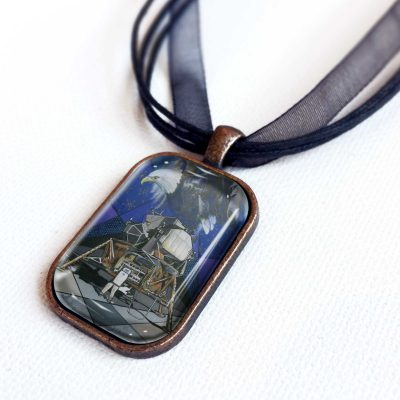 The Eagle Has Landed - Pendant