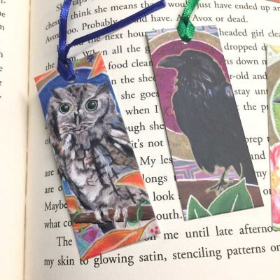 Birds Mini-Bookmarks