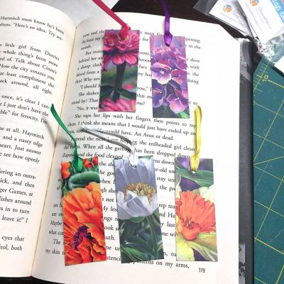 Botanicals Mini-Bookmarks