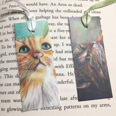 Cats Mini-Bookmarks