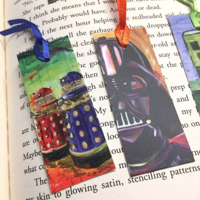 Fantasy/Sci-Fi Mini-Bookmarks