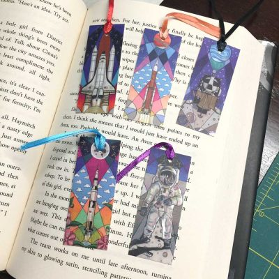 Reach for the Stars Mini-Bookmarks