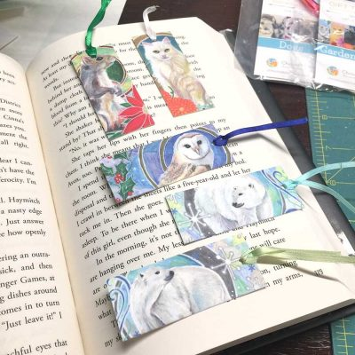 Winter Whites Mini-Bookmarks
